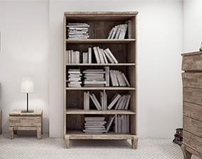 Wide bookcase BONA