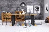 Non-folding table ZINC