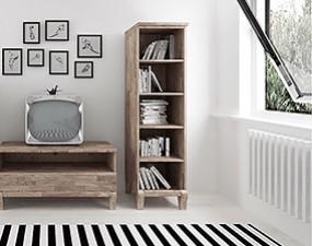 Narrow bookcase BONA
