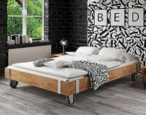 Bed frame on wheels WILL