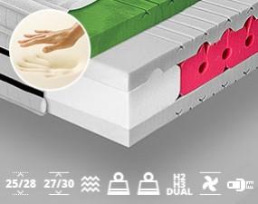 Highly Elastic Mattress  ITALIA VISCO LUX 250