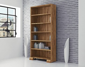Wide bookcase SETI