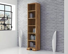 Narrow bookcase SETI