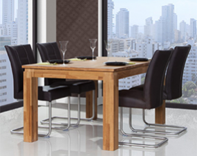 Table with extendable top VINCI