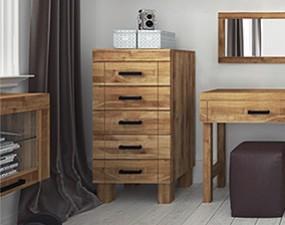 Narrow chest of drawers BINGO