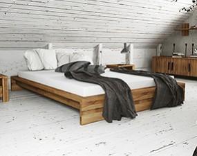 Bed frame CUBIC