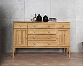 Wide chest of drawers ODYS