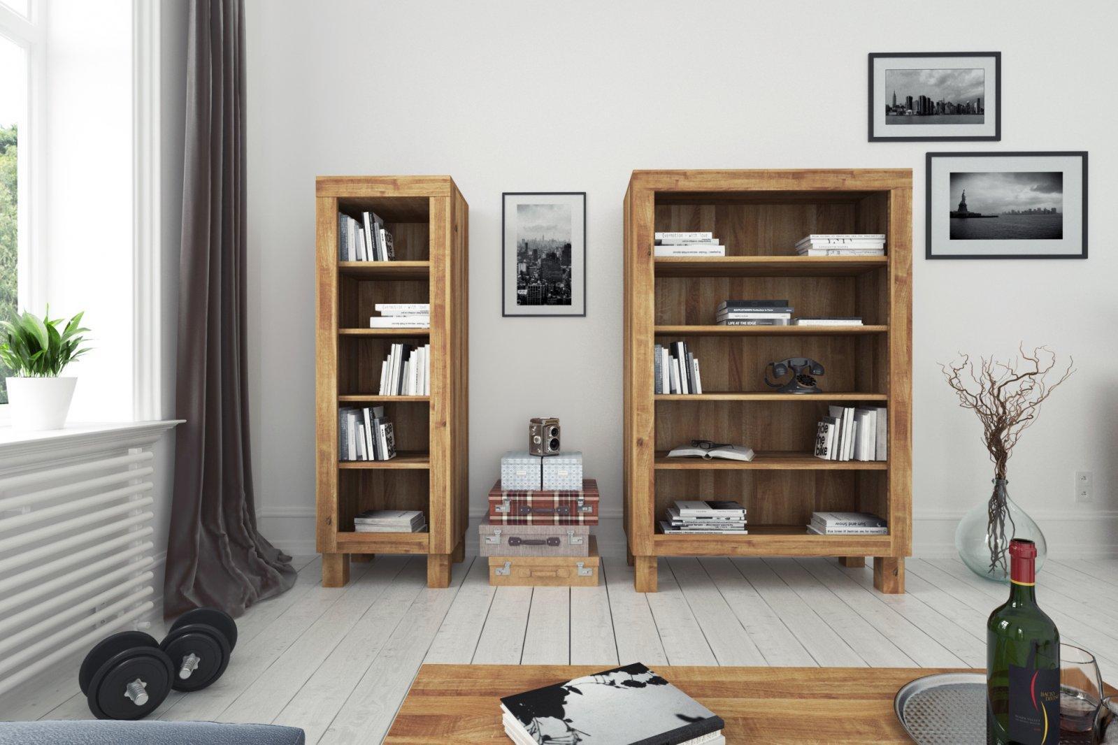 Wide bookcase BINGO