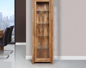 Narrow glass-case VINCI