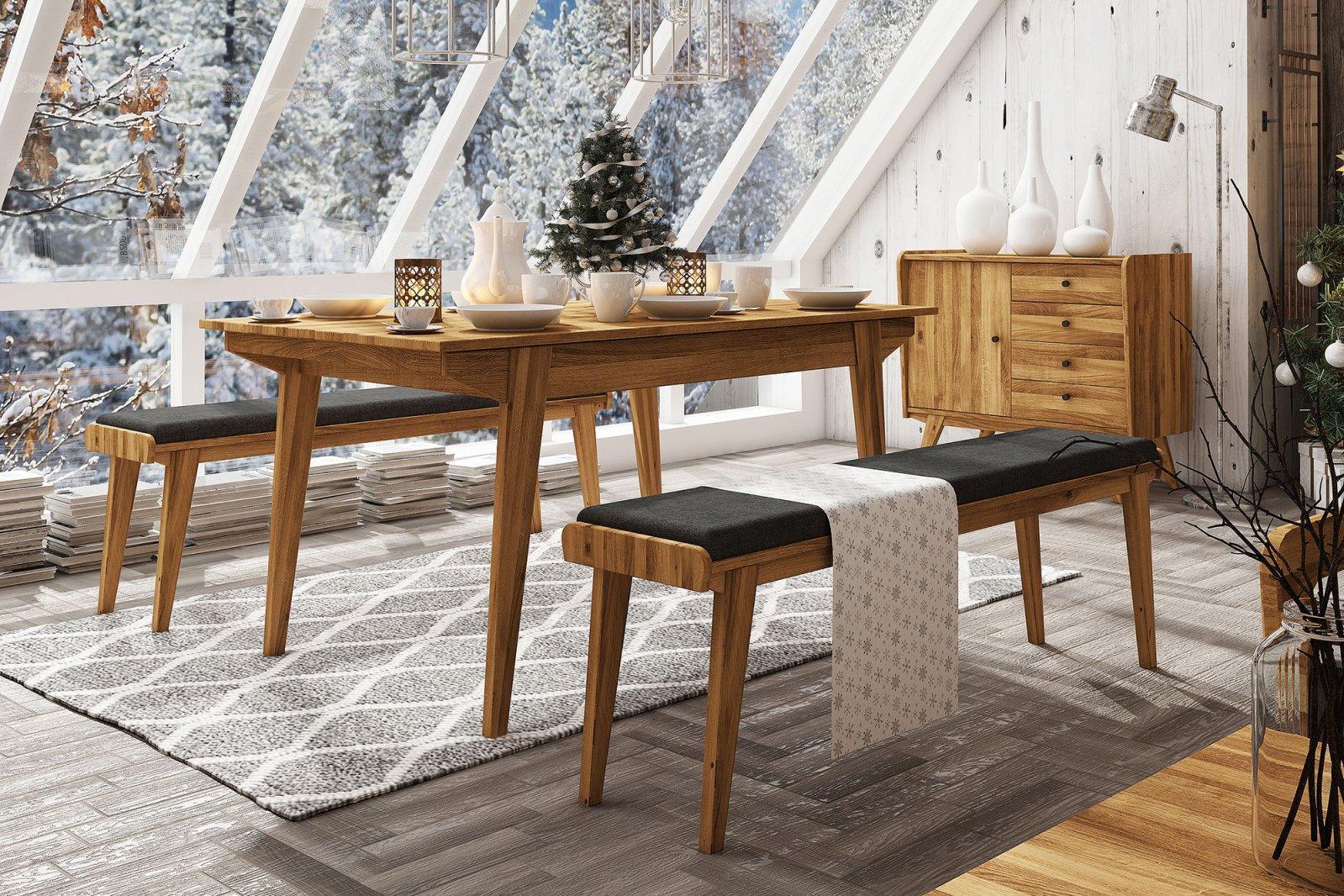Non-folding table RETRO