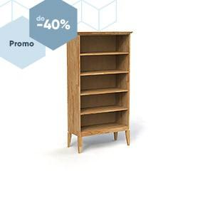Wide bookcase ODYS