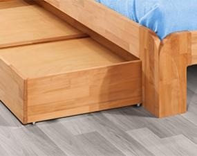 Drawer under bed
