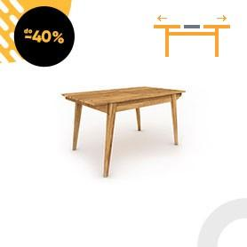 Table with extendable top RETRO