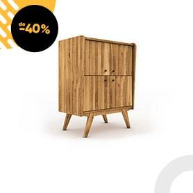 High chest of drawers RETRO