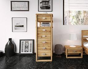 High chest of drawers MINIMAL