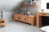 Low chest of drawers CUBIC