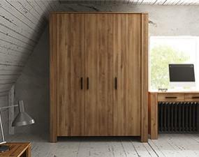 Wardrobe CUBIC 3-doors
