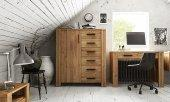 High chest of drawers CUBIC