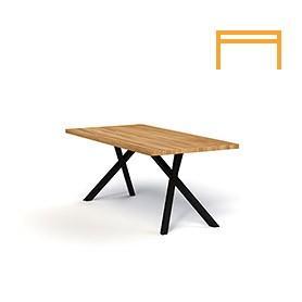 Non-folding table OXIDE
