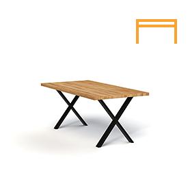Non-folding table TITAN