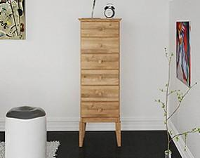 High chest of drawers ODYS