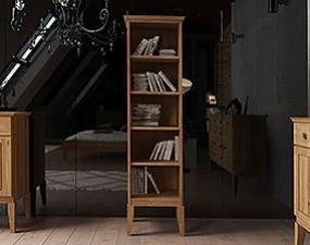 Narrow bookcase ODYS